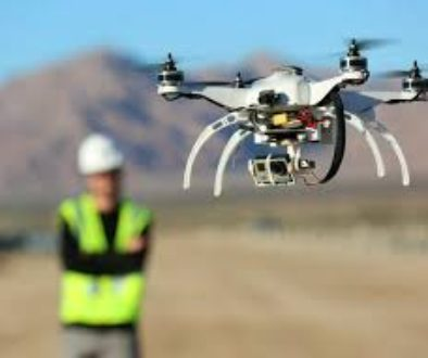 drone used in surveying